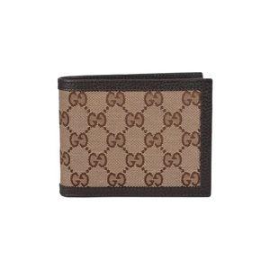 Men's Gucci canvas wallet